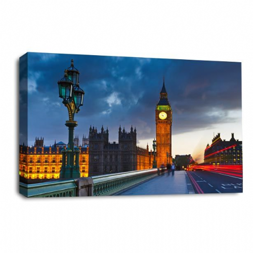 City London Wall Art Picture Large Big Ben Parliament Print